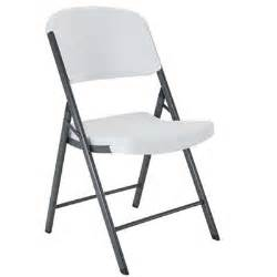 folding chairs rental mucho material silla plegable lifetime blanca