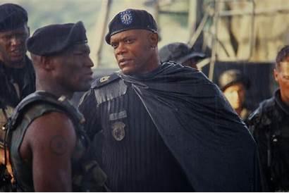 Basic Jackson Samuel 2003 Military Movie Film