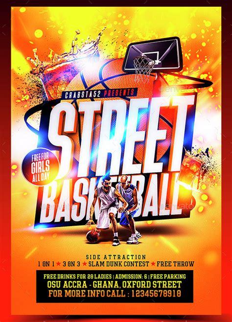 basketball flyer template   documents