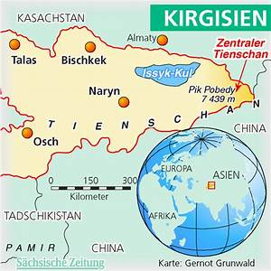 Images of Tien Shan Mountains Map - #golfclub