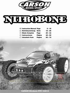 Carson Modelsport Nitro Bone Manual