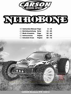 Carson Modelsport Nitro Bone Manual