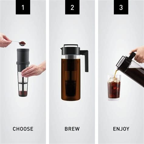 Awhile back i experimented doing coffee. Takeya Patented Deluxe Cold Brew Coffee Maker, 1 Quart Sale $15.99
