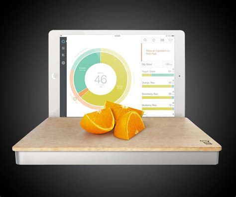Prep Pad Smart Food Scale | DudeIWantThat.com