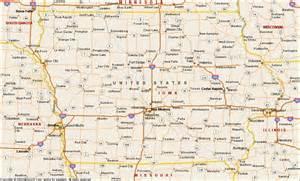 Iowa On US Map