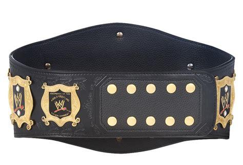 Wwe Undisputed Championship Wrestling Belt Wwe Title Wwf