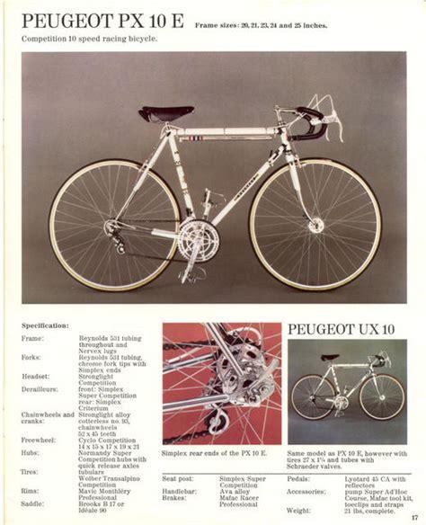 Peugeot Catalog peugeot catalog 1974