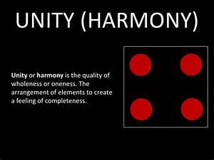 UNITY (HARMONY) Unity or harmony