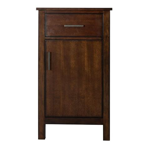 home depot bathroom floor cabinets home decorators collection castlethorpe 19 in w x 34 in