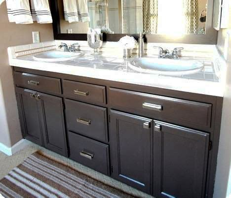 kitchen cabinets cleaning turn your builder s grade oak vanity into a thing of 2925