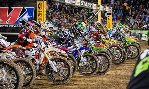 monster energy ama motocross monster energy ama supercross in glendale az groupon