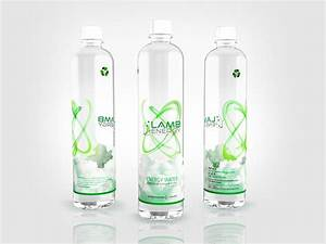 water bottle label design on behance With how to design water bottle labels