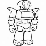 Coloring Robot Lego Cool Popular sketch template