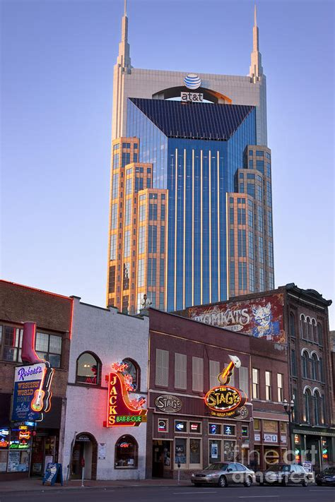 downtown nashville photograph  brian jannsen