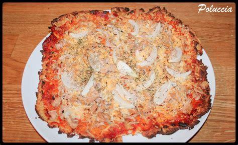 pate a pizza light pizza light au thon le de poluccia cuisine voyages photographies