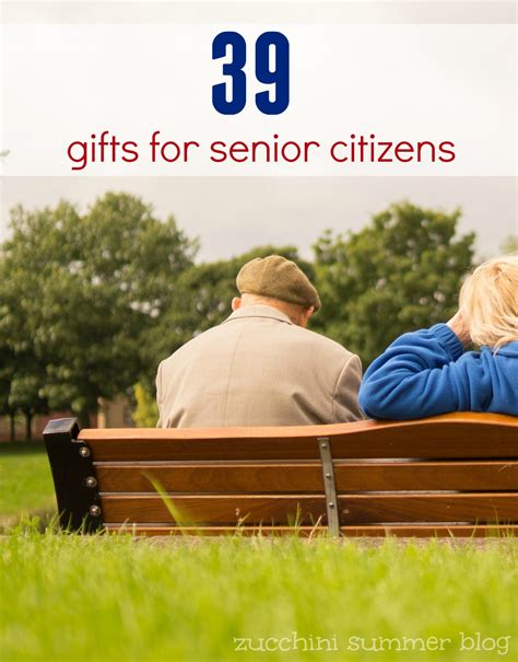 zucchini summer gifts for senior citizens