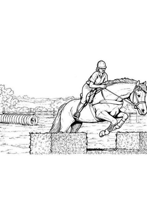 immagini di cavalli che saltano da colorare disegni da colorare di cavalli