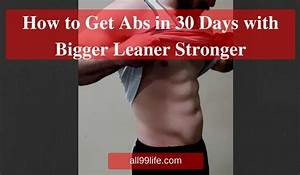 Bigger Leaner Stronger Results And Workout Routine