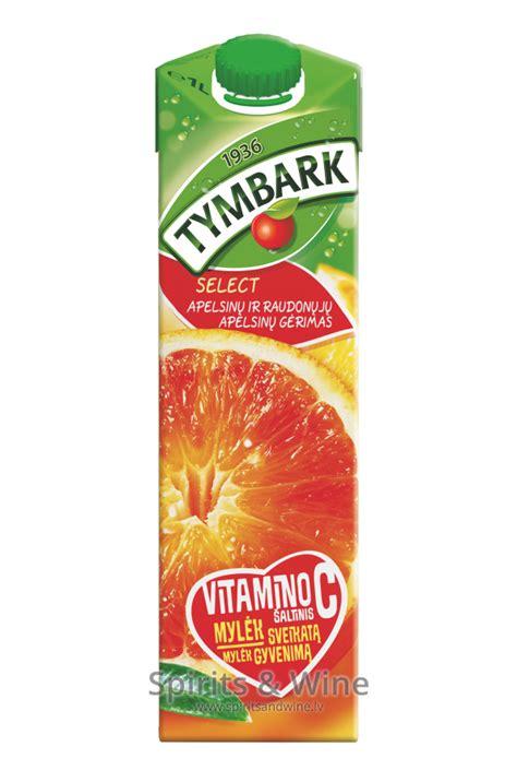 TYMBARK sarkano apelsīnu - Juice - Spirits & Wine
