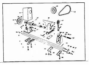 Wood Lathe Parts Diagram
