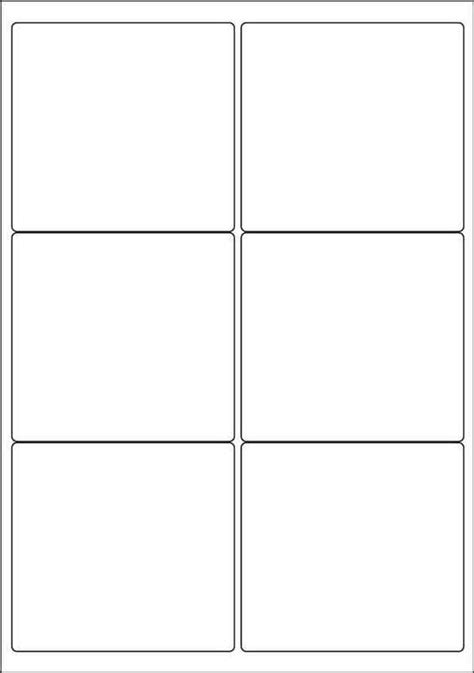 Labels By The Sheet Templates by Label Template 6 Per Sheet Printable Label Templates