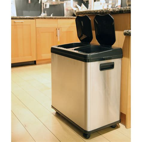 designer kitchen trash cans large kitchen trash can traditional home ideas 6642