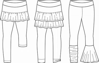 Skirt Leggings Drawing Pdf Pattern Upon Stitch