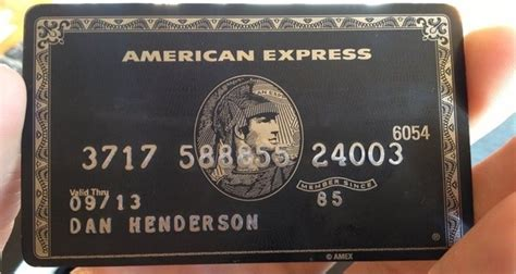 Maybe you would like to learn more about one of these? What is an Amex Black Card? - Quora