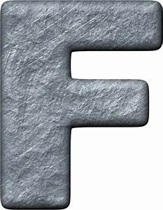 presentation alphabets rough metal letter f With metal letter f