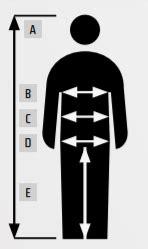 Darba apģērbu izmēri