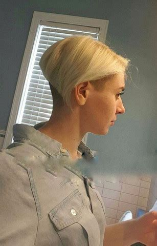 nacken haare als maedchen rasiert beauty aussehen kosmetik