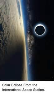 International Space Station Solar Eclipse
