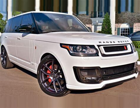 range rover range rover khan white aspire autosports