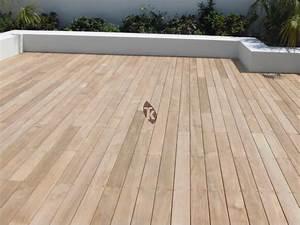 Lame Bois Pour Construction Chalet : lames de terrasse en bois exotique teck tekabois ~ Melissatoandfro.com Idées de Décoration
