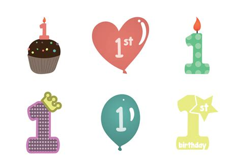 Free icons of birthday cake in various design styles for web, mobile, and graphic design projects. Free 1st birthday vector Illustration - Download Free ...