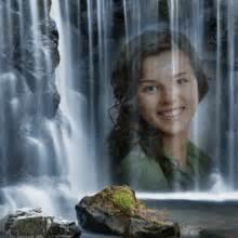 animated waterfall photo effect brings nature   photo