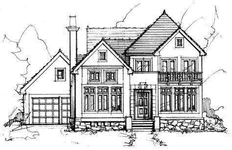 Extraordinary Simple Home Sketch 8 House Vector