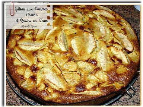 rhum cuisine recettes de gâteau aux pommes et rhum