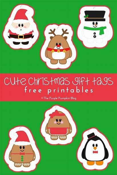 Christmas Tags Gift Printables Thepurplepumpkinblog