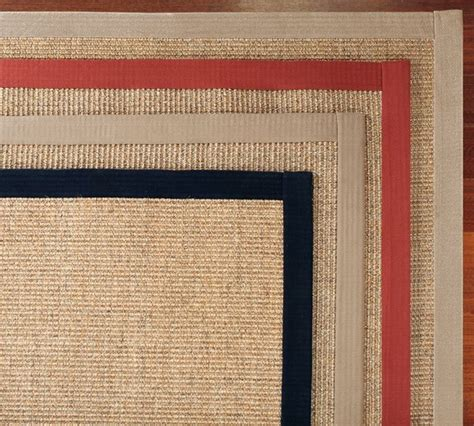 Rugs A Bound by Color Bound Sisal Rug Contemporary Rugs By Pottery Barn