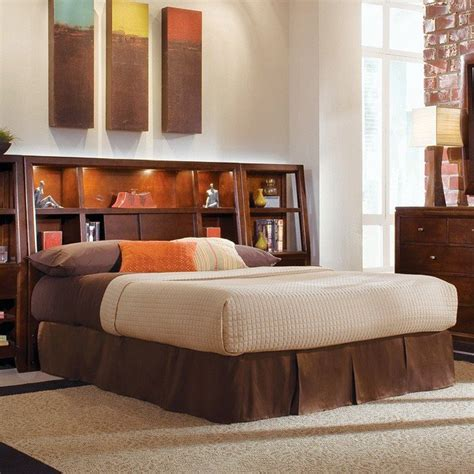 Bedroom Set With Bookcase Headboard by Tribecca Bookcase Headboard Bedroom Set American Drew