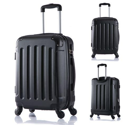 koffer handgepäck leicht koffer trolley 4 rollen reisekoffer hartschalenkoffer reise leicht xl 374 3 ebay