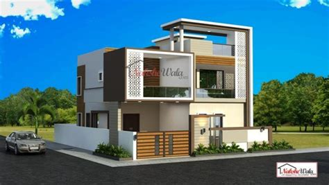 contemporary house elevation modern designs  house india