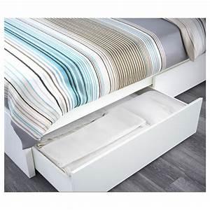Ikea Wickelkommode Malm : malm bed frame high w 2 storage boxes white leirsund 140x200 cm ikea ~ Sanjose-hotels-ca.com Haus und Dekorationen