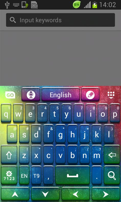 keyboards for android free go keyboard color hd free app android freeware