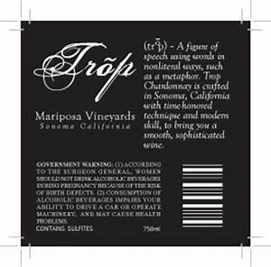 Wine bottle label back by jinxxxer on DeviantArt
