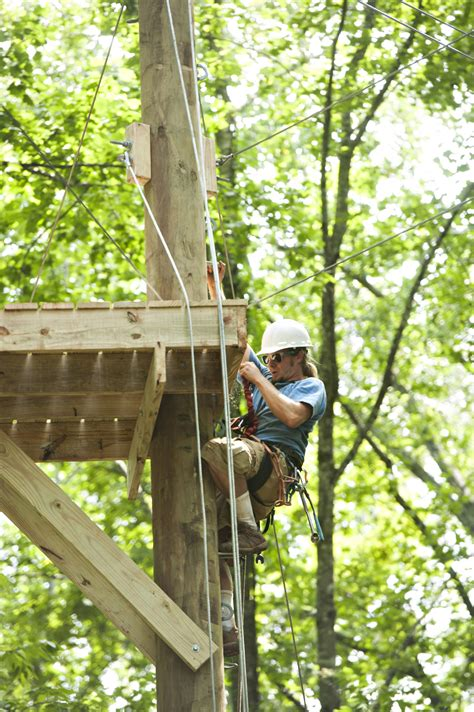 outdoor adventure ropes  upgraded lynchburg college