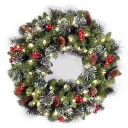 10 best wreaths for the front door in 2017 artificial pre lit winter wreaths