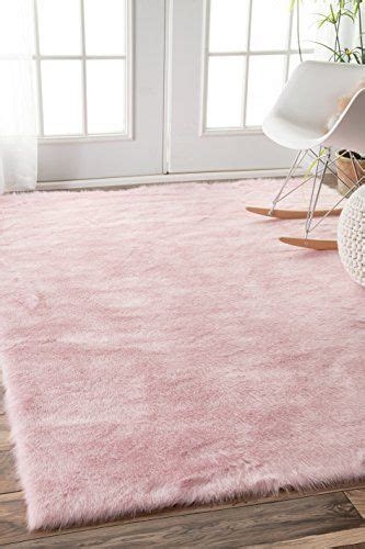 pink shag rug ideas  pinterest girls rugs