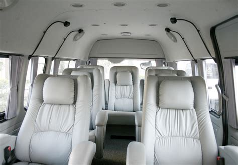 8 Seater Luxury Toyota Van  Toyota Hiace Hire Delhi